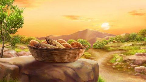 Чуда пяти хлебов и двух рыб
