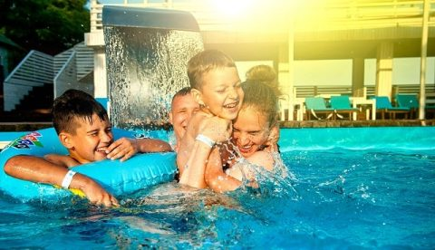 семьи счастливого праздник