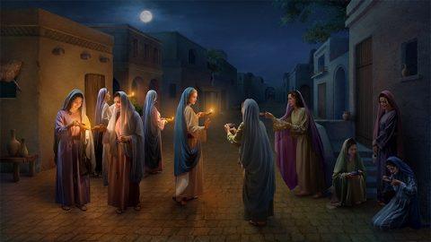 Библейские загадки - Мудрые девы могут распознать голос Бога!