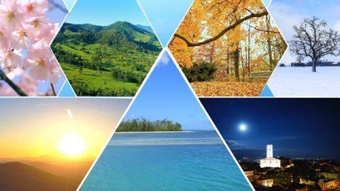 На четвертый день в силу того, что Бог снова применяет Свою власть, возникают времена года, дни и годы человечества
