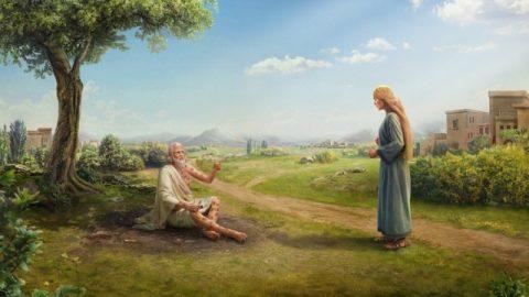 Еще одним проявлением богобоязненности Иова и его стремления удаляться от зла является его постоянное прославление имени Божьего во всем