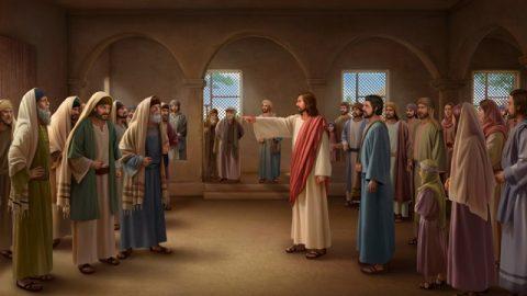 Иисус упрекает фарисеев