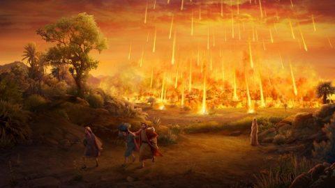 Содом сметен с лица земли за то, что возбудил Божий гнев