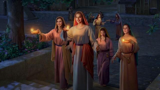 проповедь о десяти девах