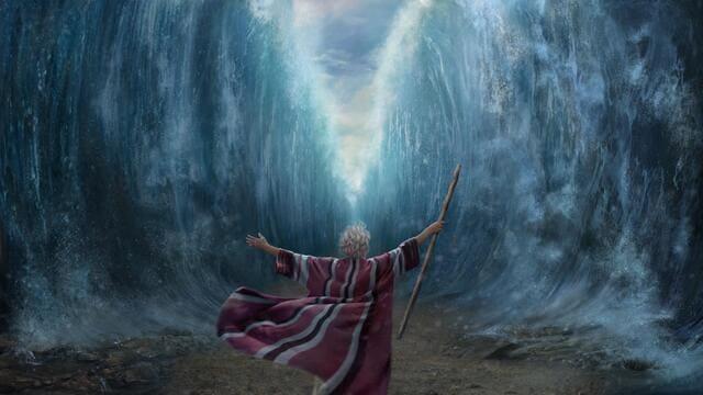 Моисей,Красное море