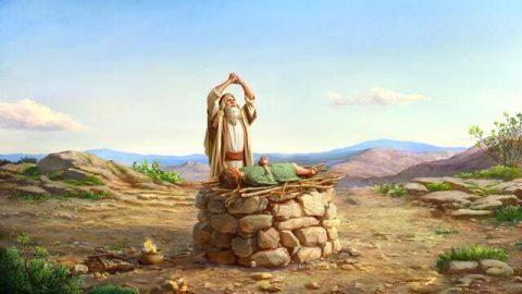 Бог велит Аврааму принести Исаака в жертву
