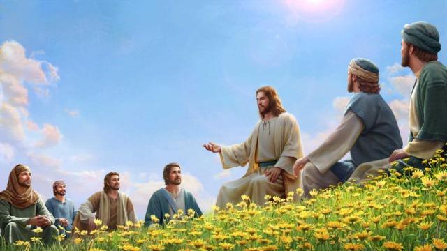 Песни про Бога : Сын Человеческий явился