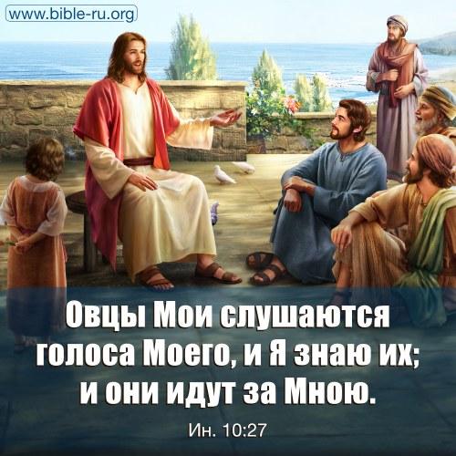 евангелие от иоанна 10 глава