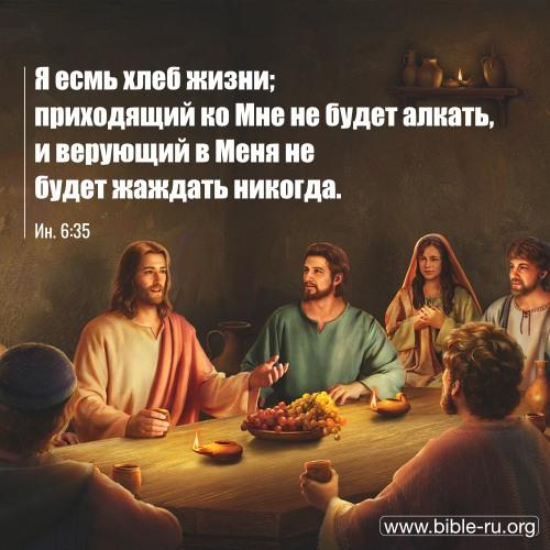 евангелие от иоанна глава 6 толкование